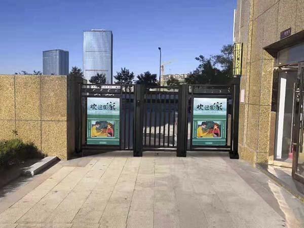 廣告門道閘系列